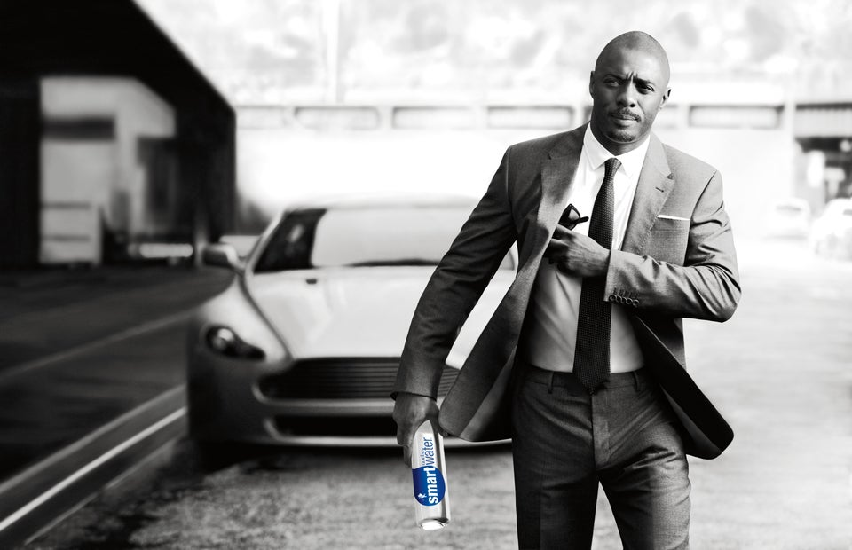 Idris Elba Is New Face of Smartwater