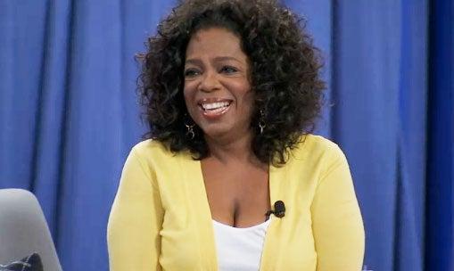 Oprah Teaches Life Lessons on Facebook