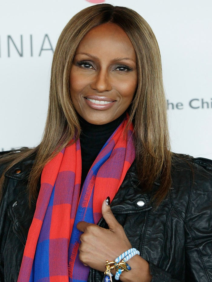 Great Beauty: Iman Holds Press Conference to Aid Somalia