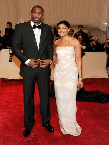 Rachel Roy and Amar'e Stoudemire Talk Style and Basketball