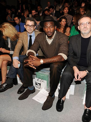 NYFW Front Row Fab: Amare Stoudemire