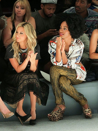 NYFW Front Row Fab: Solange Knowles