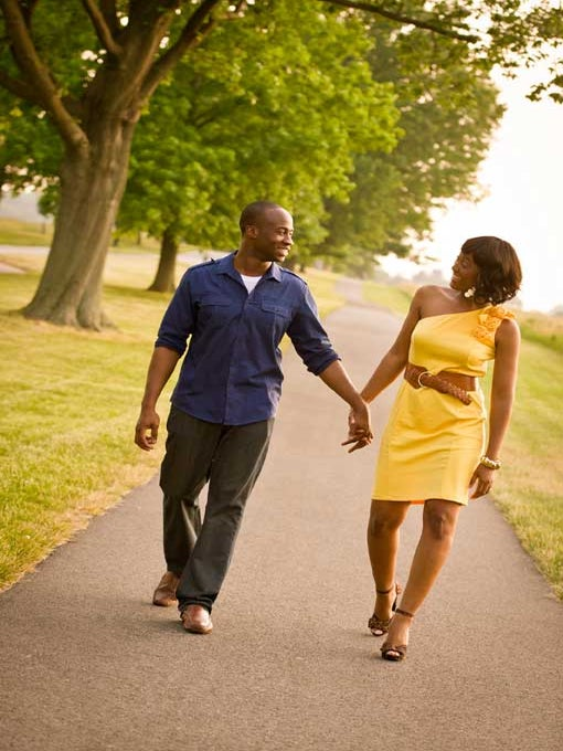 Just Engaged: Sherine and Robert