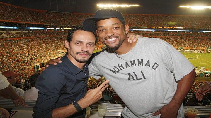 Will Smith Celebrates Marc Anthony's Birthday