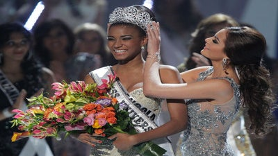 Miss Universe Questioned about Residence
