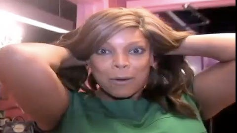 Must-See: Wendy Williams Takes Off Her Wig