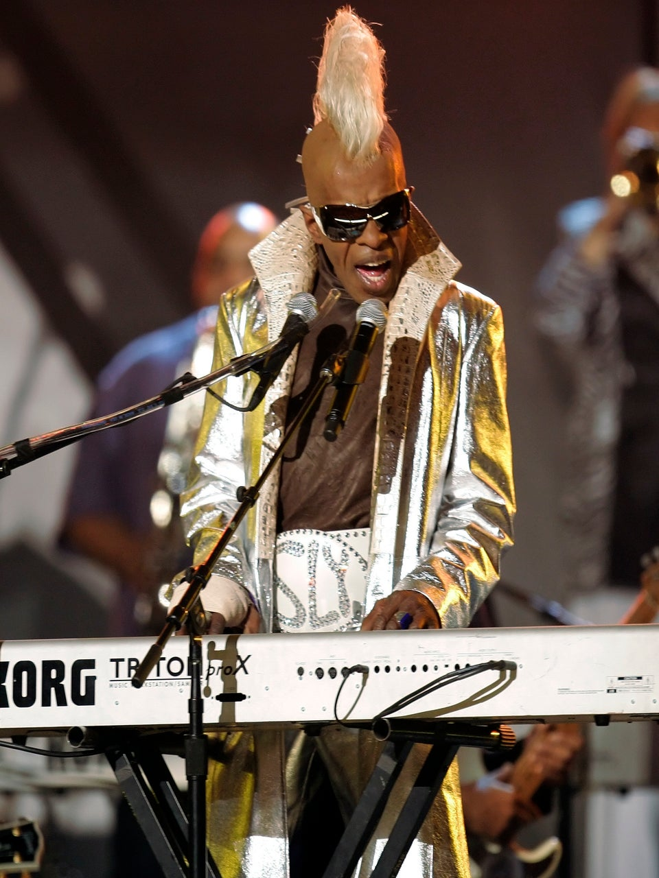 Sly Stone is Homeless But Happy