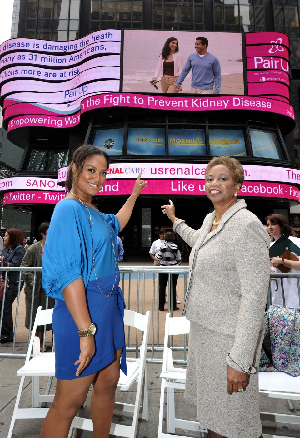 Laila Ali Joins the Fight Against Kidney Disease