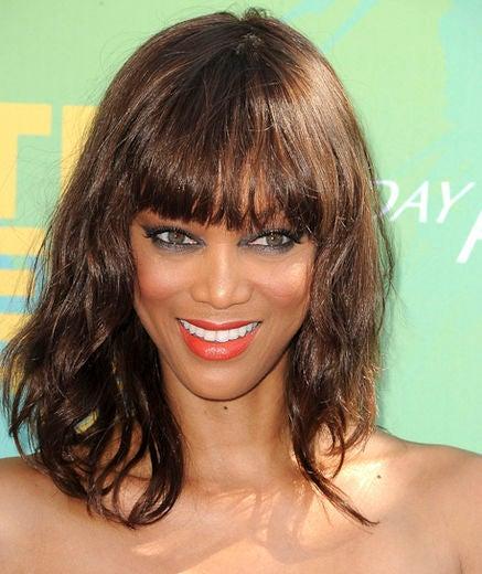 Tyra Banks Modelland: Great Beauty: Tyra Banks' Makeup Evolution