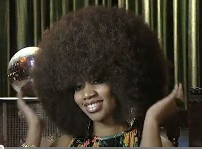 The World's Largest 'Fro!