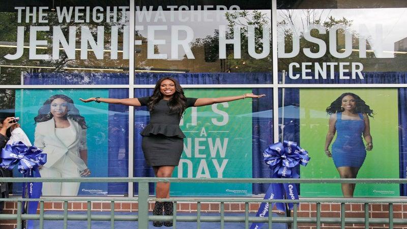 Jennifer Hudson Opens Her Own Weight Watchers Center
