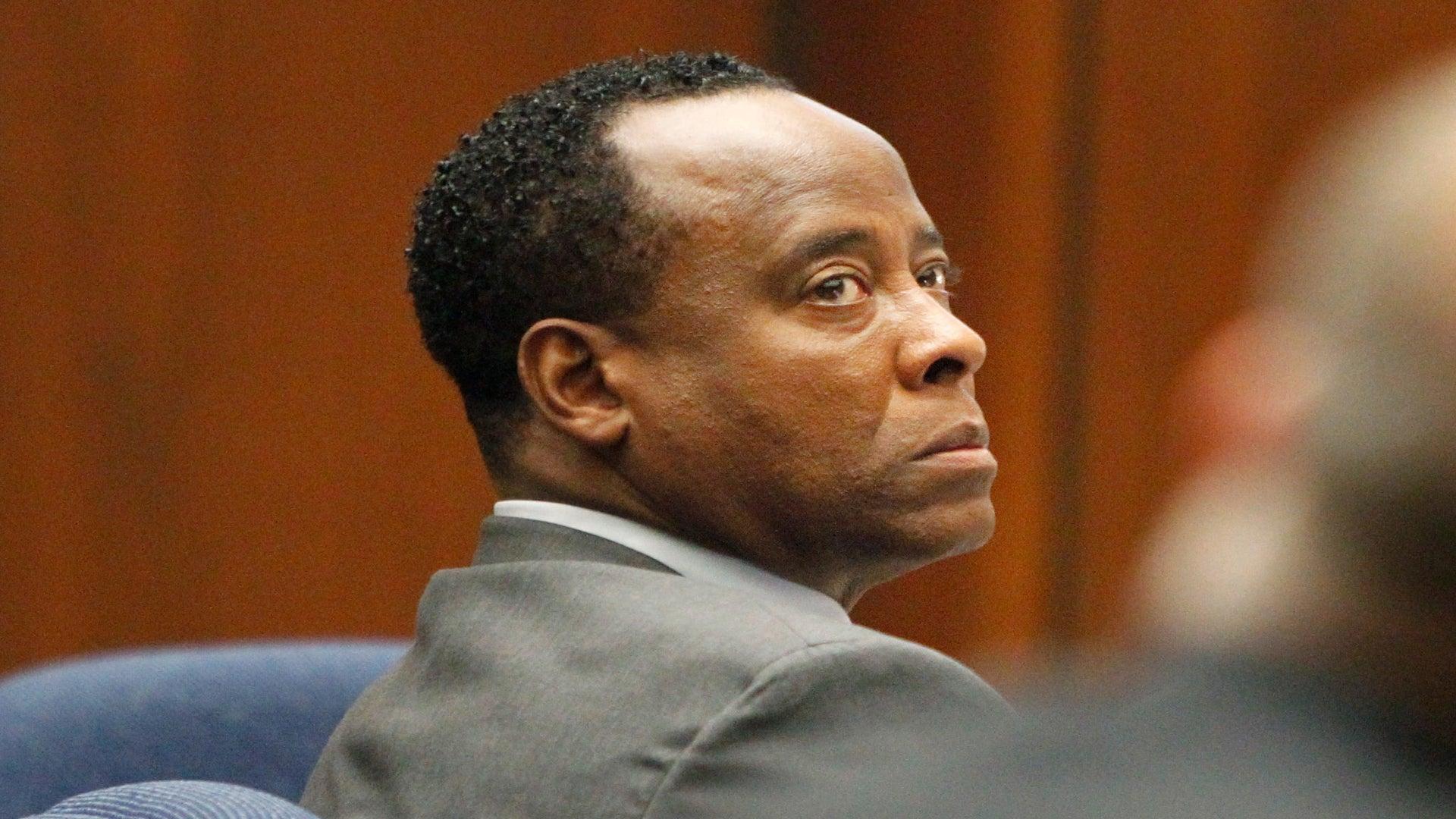 Dr. Conrad Murray Cries During Trial