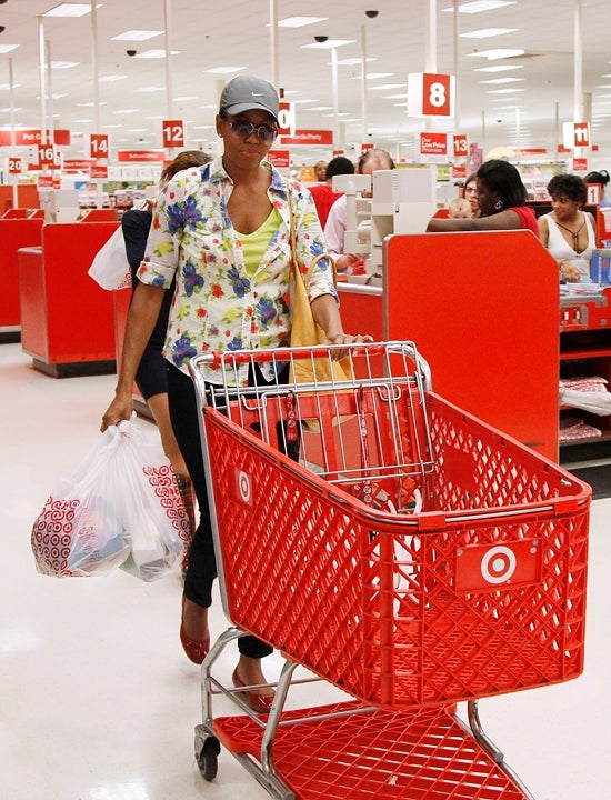 First Lady Michelle Obama Spotted Shopping at Target!
