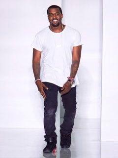 Kanye West Debuts Fashion Line in Paris