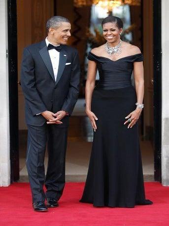 Happy 19th Anniversary, Mr. & Mrs. Obama!