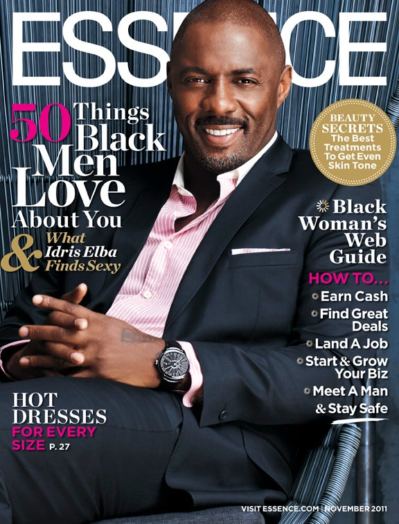 Idris Elba Graces the November Issue of ESSENCE