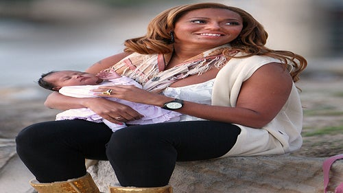 Mel B Shows Off Baby Madison Brown Belafonte