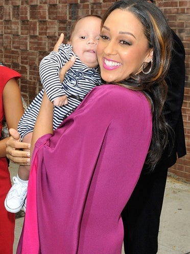 Tia Mowry Shows Off Baby Cree