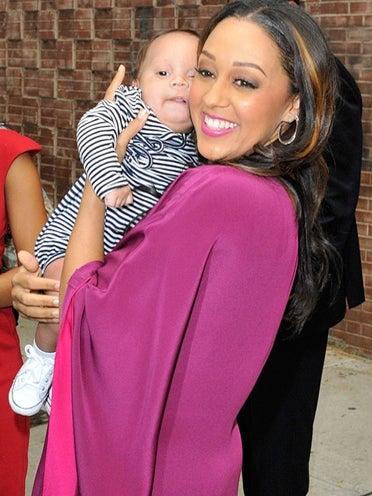 Tia Mowry Shows Off Baby Cree