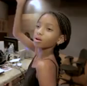 Must-See: Behind the Scenes of Willow Smith's Studio Session