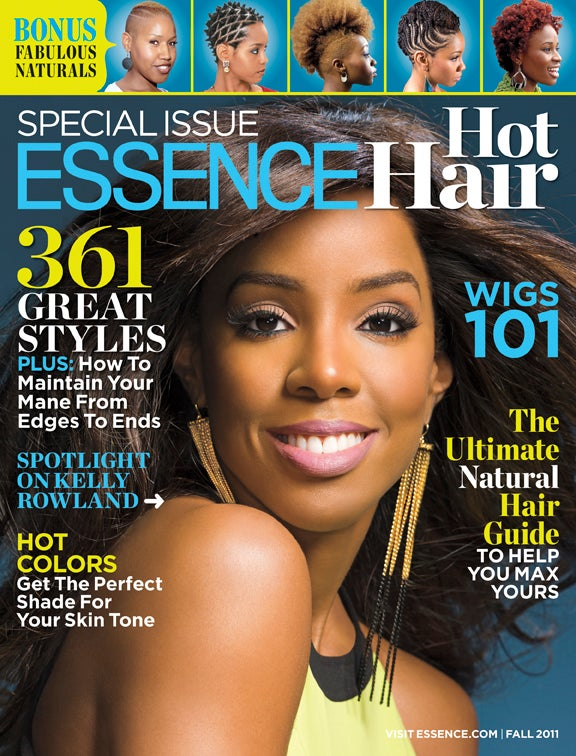 Kelly Rowland Graces ESSENCE's 'Hot Hair' Issue