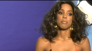 Behind the Scenes of Kelly Rowland's of Hot Hair Issue