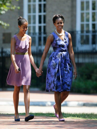 Michelle Obama Opens Up About Her Parenting Style