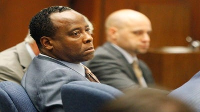 Judge Adjourns Murray Trial after Defense Outburst