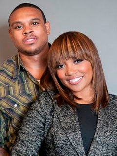 Happy First Anniversary, Monica and Shannon Brown!