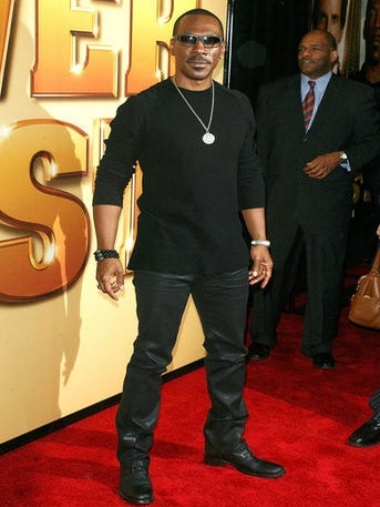 Forbes Names Eddie Murphy Most Overpaid Actor