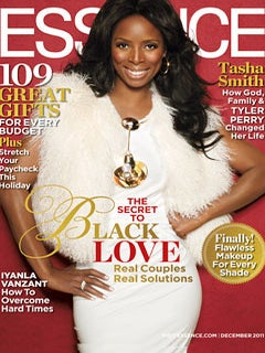 Tasha Smith Looks Fab on ESSENCE's December Cover