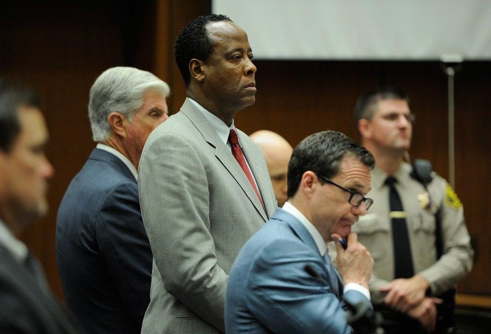 Conrad Murray to Speak at Sentencing
