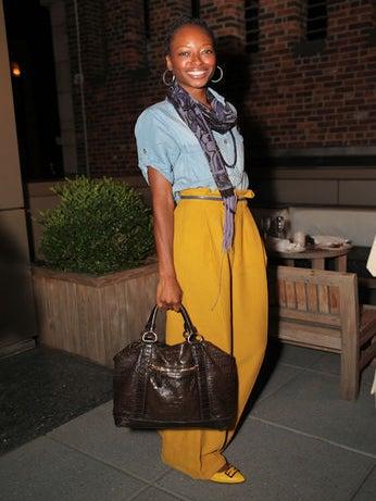 Street Style: Daisy Lewellyn's Editor Soiree