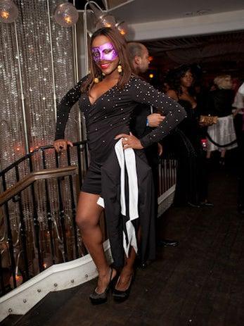 "Street Style: ""Prim & Proper"" Masquerade Ball"