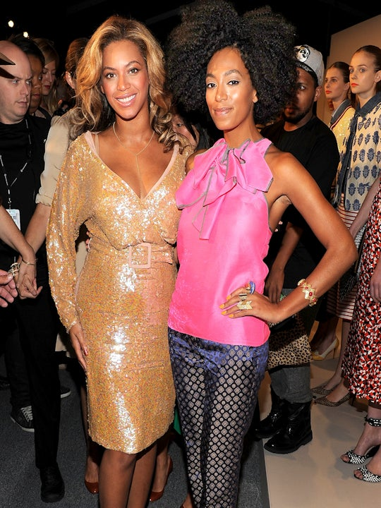Solange Gives Beyonce Style Tips