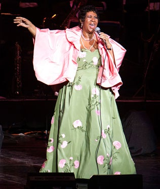 Aretha Franklin Honored at Rock and Roll Hall of Fame
