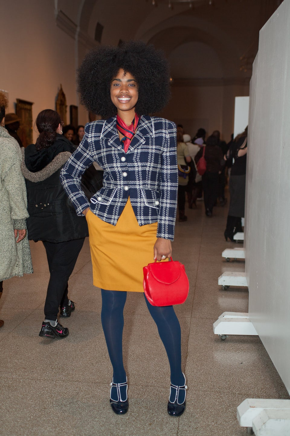 Street Style: Brooklyn Museum 'First Saturday' Party