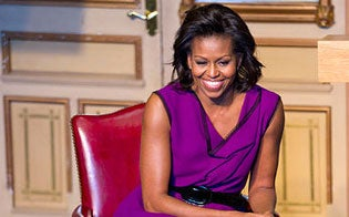 Must-See: Michelle Obama Discusses If Her Kids Joined the Military