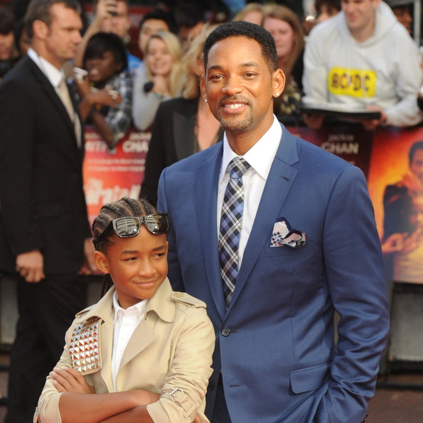 Will Smith Takes Jaden Smith to 'Watch the Throne' Concert