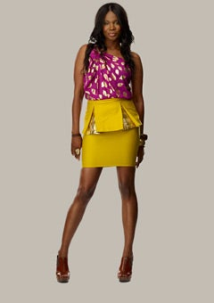 Designer Q&A: Project Runway's Kimberly Goldson