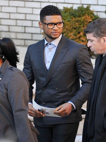 Celebrities Attend Heavy D's Funeral