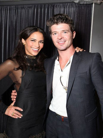 Robin Thicke Recommends Lots of Sex to Couples
