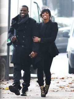 Kelly Rowland Gets Cozy with Lance Gross in Paris