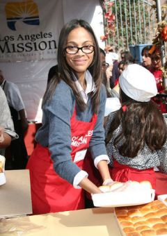 Celebs Giving Back During Thanksgiving