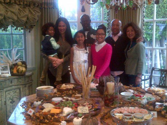 How Celebs Spent Thanksgiving Holiday Weekend