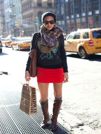 Street Style: Holiday Shopping