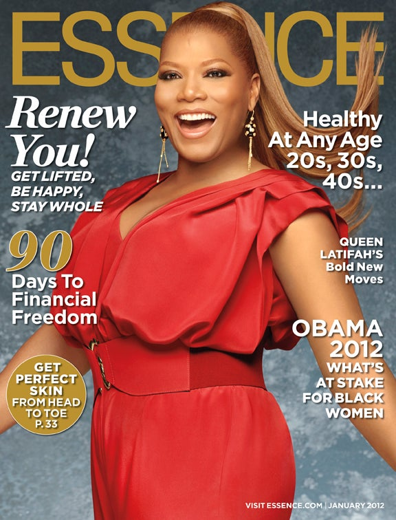 Queen Latifah Graces January Issue of ESSENCE