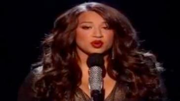 Must-See: Melanie Amaro Performs Whitney Houston & Mariah Carey's Song