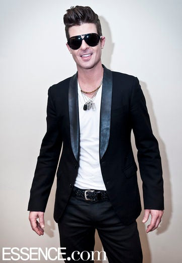 Robin Thicke Gushes Over Son, Julian Fuego