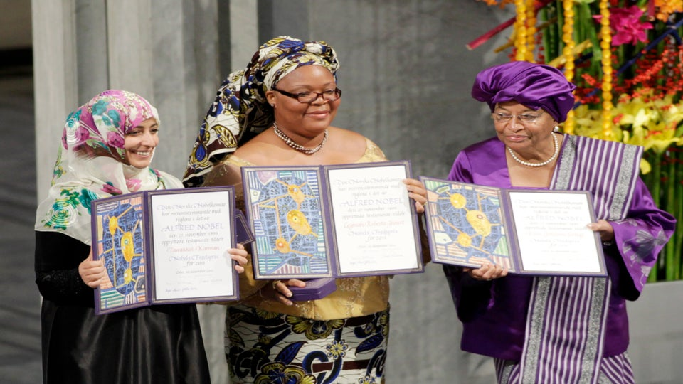 Nobel Peace Prize Honors Liberian President Ellen Johnson Sirleaf and More